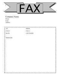 Fax Cover Sheet Template For Free   Cover Letter Templates