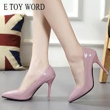 Designer Dress Shoes <b>E TOY WORD</b> Fashion Pumps Stiletto High ...