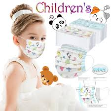 50pcs <b>Disposable Boy And</b> Girl Printed Mask For Face Skin Care ...
