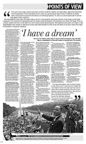 best ideas about martin luther king memorial martin luther king s i have a dream speech written in