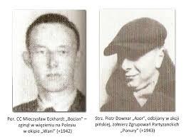 """Marian Czarnecki ps. """"Ryś"""", Piotr Downar ps. """"Azor"""", strzelec. Porucznik Mieczysław Eckhardt ps. """"Bocian"""" komandos, cichociemny - ponury_02"""