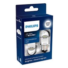 <b>Лампа PHILIPS</b> W21/5W 12V LED (W3x16q) White <b>X</b>-<b>tremeUltinon</b> ...