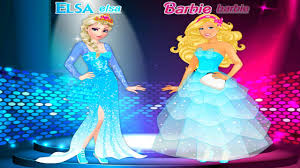 barbie and elsa best friends forever dress up game 2016 09 09