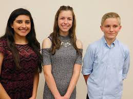 human relations council selected winners for the black history valley high school students awarded for their essays presented at the 13th annual black history month