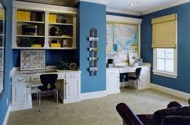 ultra marine blue home office blue home offices