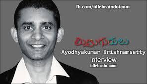 Ayodhya Kumar Krishnamsetty went to USA to do a software job and ... - ayodhyakumarkrishnamsetty