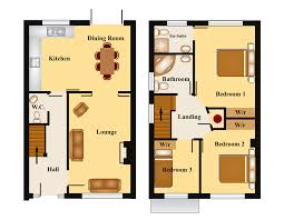 vacation home floor plans   Townhouse Style House Floor Plans      vacation home floor plans   Townhouse Style House Floor Plans   Townhouse Home Plan Design   Floor Plan Fanatic   Pinterest   Floor Plans
