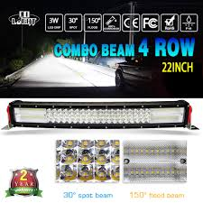 COLIGHT 8D Led Bar 22 Inch 6000K <b>Led Work Light</b> Bar Combo ...