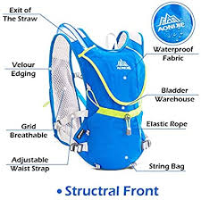 TRIWONDER <b>Hydration Pack</b> Backpack Professional <b>8L</b> Outdoors ...