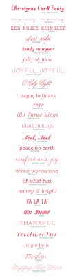 christmas card fonts a subtle revelry 25 christmas fonts