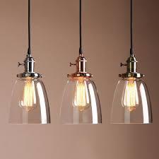 details about vintage industrial ceiling lamp cafe glass pendant light shade light fixture brass pendant lighting