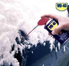 <b>Смазка</b> для авто в зимнее время года - <b>WD</b>-<b>40</b> RU