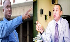 Image result for photos of ben bruce and amaechi