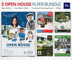 open house flyer template 30 psd format open house flyer templates bundle
