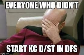 Kansas City Chiefs DFS Meme | Daily Fantasy Football Site via Relatably.com