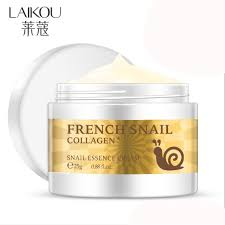 <b>LAIKOU Snail</b> EssenceFacial Cream Anti Wrinkle Anti Aging ...