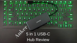 Anker <b>5 in 1 USB</b>-C Hub Review - Is it worth it? - YouTube