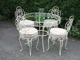 wrought iron table chair sets vintage wrought iron patio furniture vintage french wrought iron conse