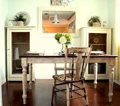 dining table mahogany white wash distress distressed table and chair in a french country dining nook decoist