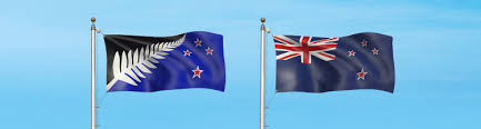 Image result for old flag and new flag nz