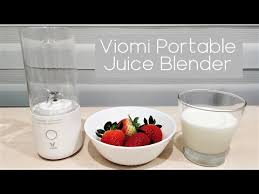 Will the <b>Viomi</b> Portable Juice <b>Blender</b> blend with strawberries ...