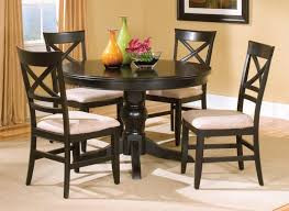 black kitchen dining sets:  classic combine modern cheap kitchen sets with creamed tufted seats dark cheap kitchen sets with