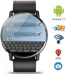 Amazon.co.jp: <b>DM19</b> 4G <b>Smart Watch</b> with Android 7.1 / 8MP ...