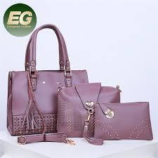 China Large Capacity Tote <b>Bags</b> in 3PCS <b>High Quality</b> PU <b>Women</b> ...