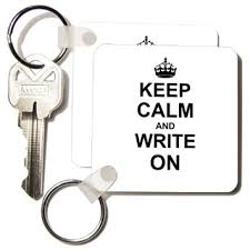 Buy Liquidity and Interest  Thesis for the Degree of PhD     Alibaba com  dRose Keep Calm and Write on   carry on writing   Author pHD thesis Writer gifts fun humor   Key Chains       x      inches  set of    kc