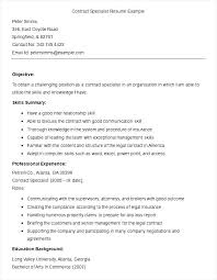 sample contract specialist resume template free samples sample contract specialist resume template inventory specialist resume
