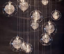 kadur globo hand blown pendant lights adorable interior design wonderful contemporary ceiling modern line voltage low blown glass lighting pendants