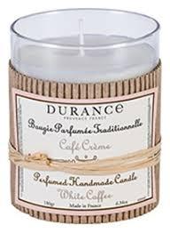 <b>Ароматическая свеча Perfumed</b> Candle White Coffee 180г (белый ...