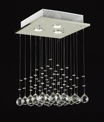 jac dlights j10 c9071s 3us modern rain drop lighting crystal ball fixture pendant chandelier 18 by 12 inch amazoncom cheap chandelier lighting