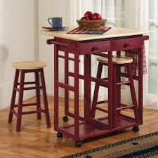 leaf kitchen cart: drop leaf kitchen cart amp stools