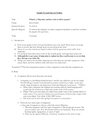 how to do a speech outline info demonstration essay ideas