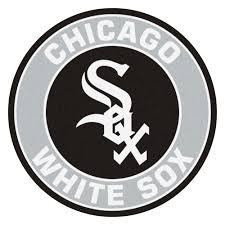 white sox logo roundel mat round area rug chicago white sox logo roundel mat 27 round area rug