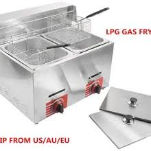 gas <b>deep fryer</b>