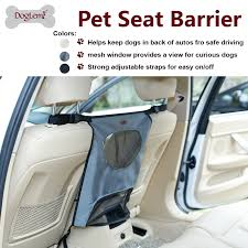 <b>Pets Dog Car Carrier</b> Seat Protective Accessaries Car Back Seat ...