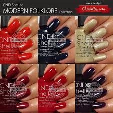 <b>CND Shellac Modern Folklore</b> Collection Swatches – Chickettes ...
