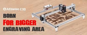 [COUPON Included] <b>Alfawise</b> C30 <b>Laser</b> Engraving Machine Flash ...