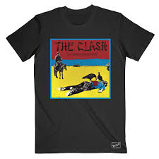 <b>Give</b> '<b>Em</b> Enough Rope Black T-Shirt – The <b>Clash</b> UK