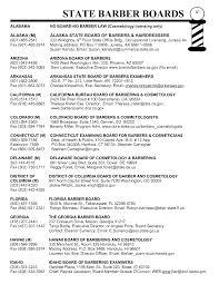 sample barber resume barber shop resume sample cosmetology sample barber resume