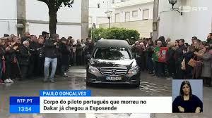 Corpo de Paulo Gonçalves chegou a Esposende