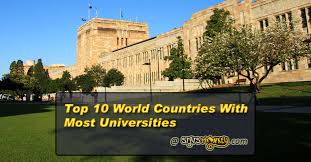 Image result for Top 10 Countries With Most Universities in the World