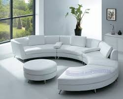 contemporary furniture design white leather sectional sofa with ottoman and optional multifunction table cado modern furniture 101 multi function modern