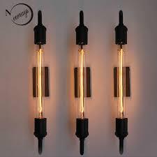 <b>vintage</b> steam <b>pipe retro</b> black <b>metal</b> wall lamp for Bathroom Vanity ...