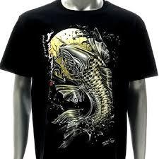3D T-shirt <b>Tattoo</b> STUD RIVET d32 Rock Chang Skull Ghost Carp ...