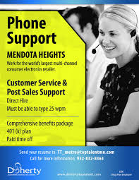 now hiring customer service representatives in mendota heights now hiring in mendota heights customer service post s support jobs