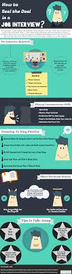 how to seal the deal in a job interview com infographic seal the deal in a job interview