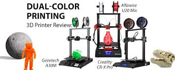 Dual-Color Printing 3D Printer Review: <b>Alfawise U20 Mix</b> VS Creality ...